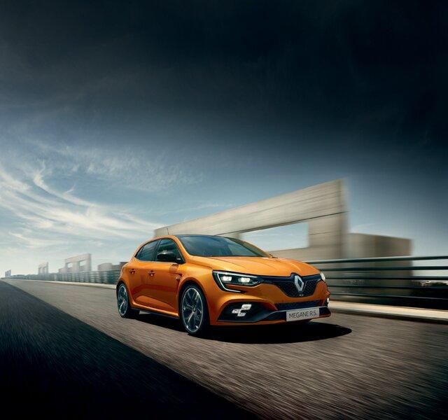 Renault MEGANE R.S. - objaviť