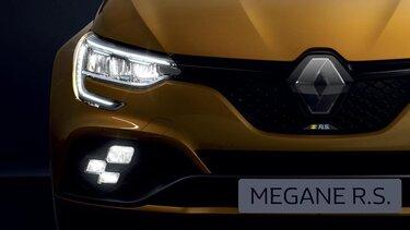 Faróis em LED - MEGANE R.S.