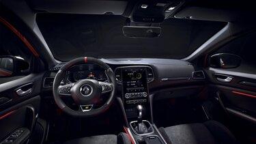 Interior - painel de instrumentos - Renault MEGANE R.S.