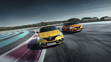 Renault MEGANE R.S. sports compact saloon