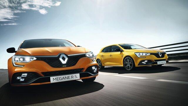 Renault MEGANE R.S. - Sportieve, compacte sedan