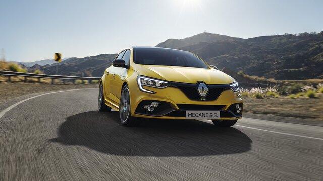 Renault MEGANE R.S. berlina compacta y deportiva