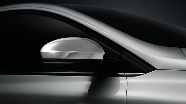 MEGANE Grand Coupe chrome-finish wing mirrors