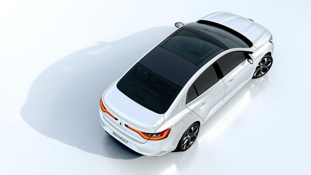 Strešné okno MEGANE Sedan