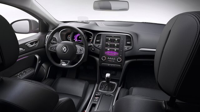 MEGANE Grand Coupe dashboard