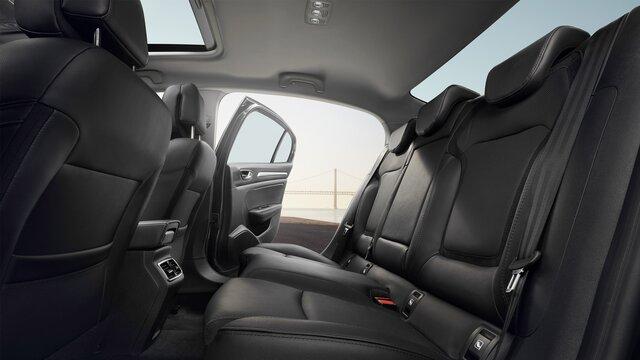 Zadní sedadla vozu MEGANE Sedan