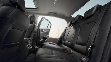 MEGANE Grand Coupe rear seats