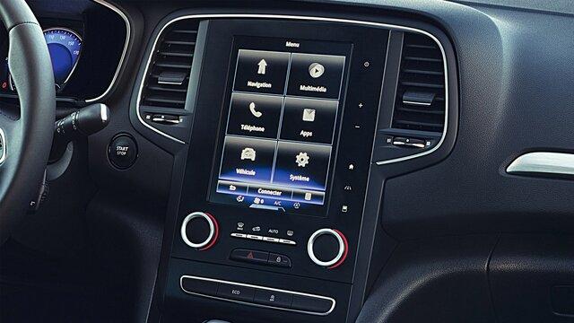 Tablet s dotykovou obrazovkou R-LINK 2 modelu MEGANE Sedan
