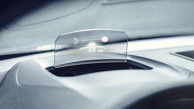 Head-up displej vozu MEGANE Sedan