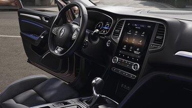 Asistenční systémy řidiče vozu MEGANE Sedan