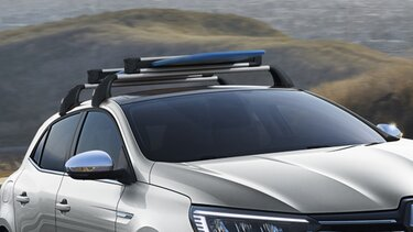 Roof bars and roof box - MEGANE