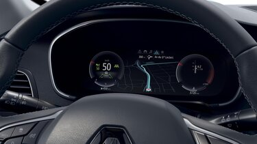 Interior customisable driver's screen - MEGANE