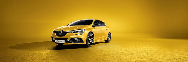 Nouvelle Renault MEGANE R.S. berline compacte sportive