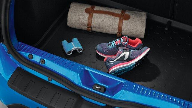 SANDERO - Подвійне дно багажника й поріг для багажника