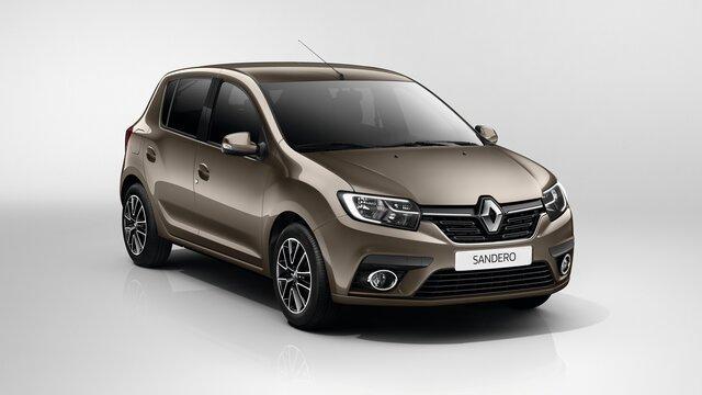 Renault SANDERO - Характеристики