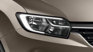 Renault SANDERO - передні фари