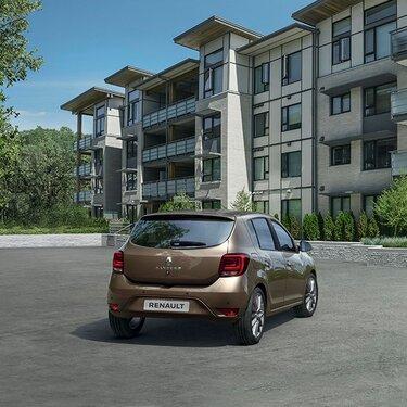 Міський автомобіль Renault SANDERO