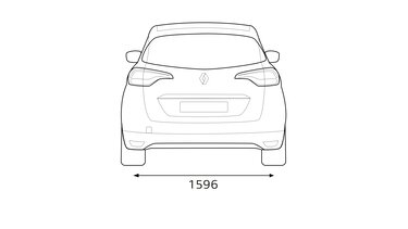 Dimensions Renault SCENIC