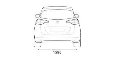 Renault SCENIC Abmessungen