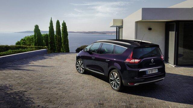 Renault SCENIC INITIALE PARIS Außendesign Heck