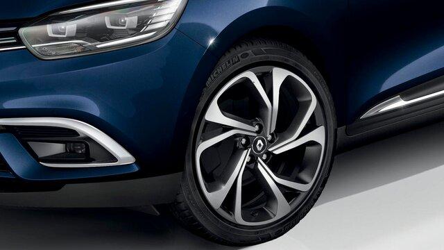 Renault SCENIC Leichtmetallfelgen
