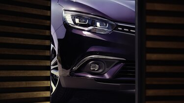 Renault SCENIC INITIALE PARIS Außendesign Scheinwerfer