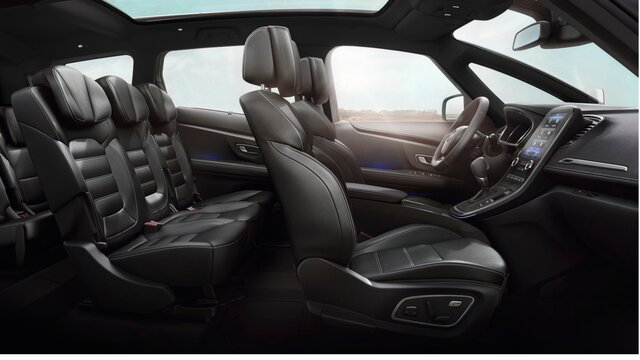 Renault SCENIC Rücksitze