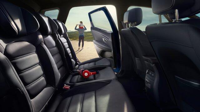 Renault SCENIC – sjedalo
