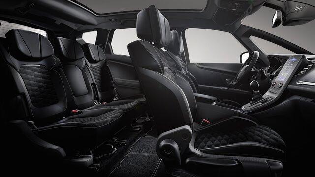 Renault SCENIC Black Edition 3D, interior