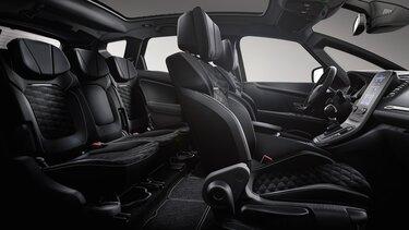 Renault SCENIC Black Edition 3D binnenkant