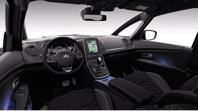 Renault SCENIC Black Edition habitacle