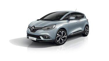 Renault SCENIC in Hellblau