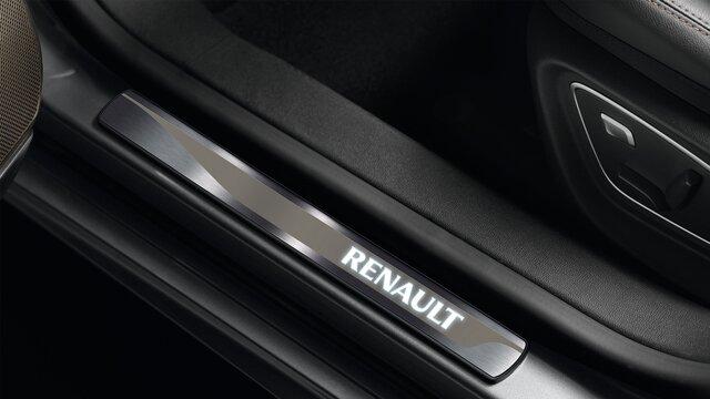 Osvětlené prahové lišty vozu Renault TALISMAN Grandtour