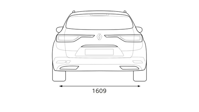 Renault TALISMAN Grandtour Heckabmessungen