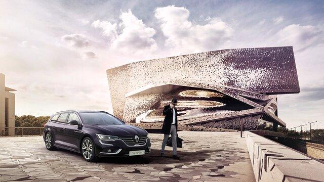 Renault TALISMAN Grandtour INITIALE PARIS w kolorze fioletu