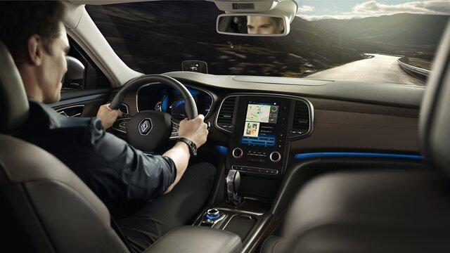 Asistenční systémy řidiče vozu Renault TALISMAN Grandtour