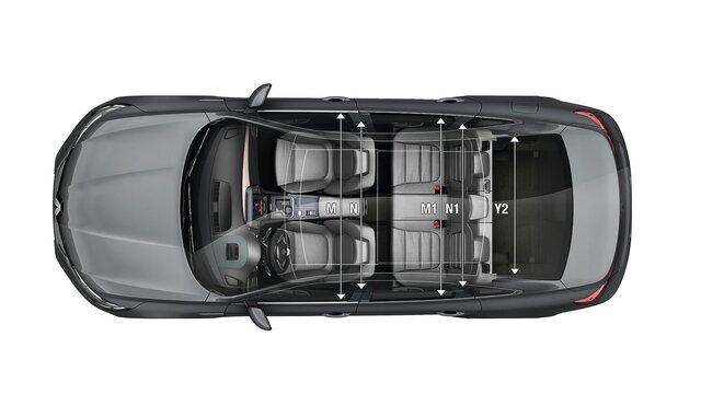 Rozměry vozu Renault TALISMAN