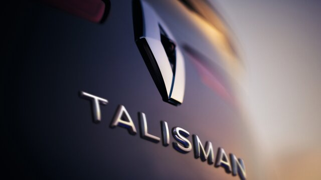 Renault TALISMAN badge