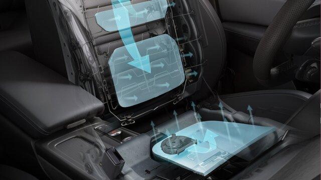 Renault TALISMAN zetel met verwarming