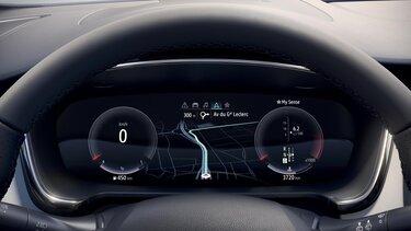 Ecran conducteur - Renault TALISMAN