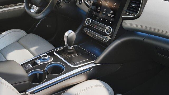 Renault TALISMAN berline intérieur levier de vitesse et porte gobelets