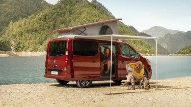 nouveau Renault Trafic SpaceNomad design extérieur
