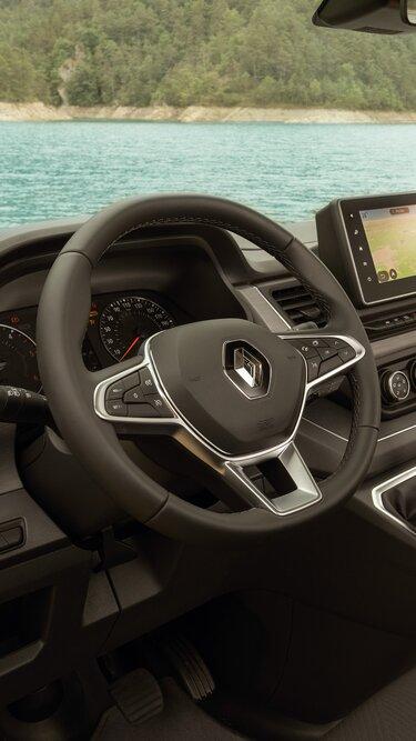 Renault Trafic SpaceNomad Chromeinfassung