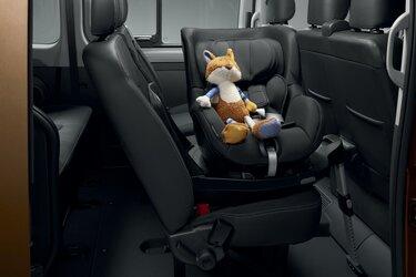 Kindersitz - Zubehör des Trafic Combi - Renault