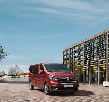 All-New Renault Trafic Passenger - technical data