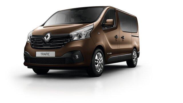 Renault TRAFIC Passageiros castanho