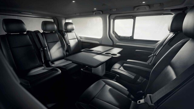 TRAFIC SpaceClass interior