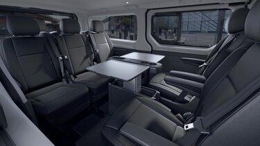 Der Neue Renault TRAFIC SpaceClass – Innenraum
