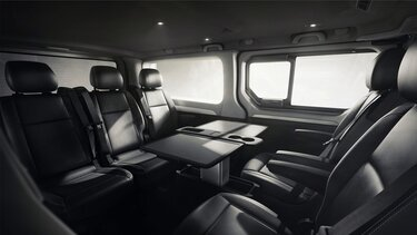 TRAFIC SpaceClass bench seat