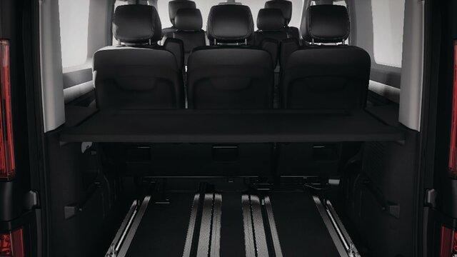 Renault TRAFIC SpaceClass – prtljažnik